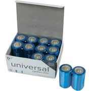 UPG Super Heavy-Duty D Batteries, 12 Count