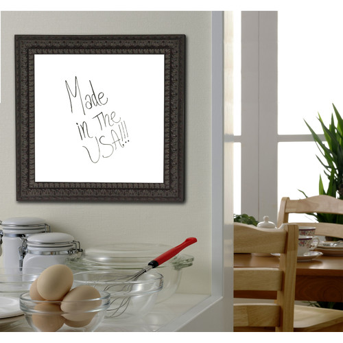 Rayne Mirrors Embellished Wall Mounted Dry Erase Board