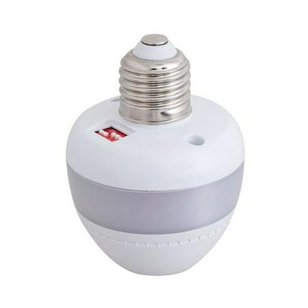 FCD Invisible Motion Activated Retrofit Smart Light Bulb Socket (Set of 2) (Par Retrofit)