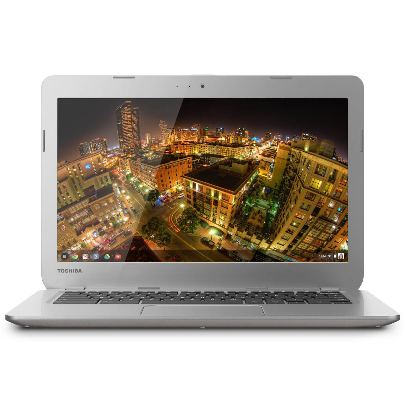 "Refurbished Toshiba CB30-B3122 13.3"" LED Chromebook 2 Intel Celeron Dual Core 16GB SSD 4GB"