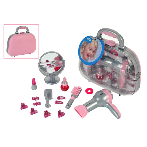 Theo Klein Braun Toy Beauty Case Play Set