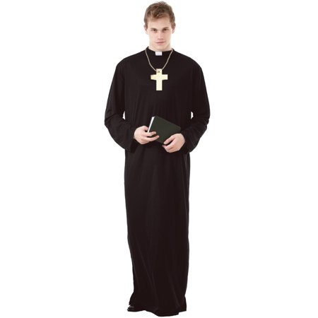 Boo! Inc. Prayerful Priest Men's Halloween Costume Catholic Cardinal Monk Friar Robes](Halloween Catholic)