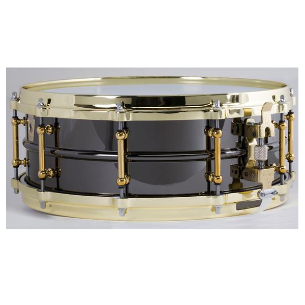 "Ludwig LB416BT Black Beauty ""Brass on Brass"" 5""x14"" Snare Drum"