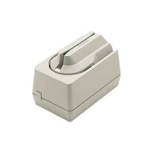 Magtek Mini MICR w/ 3-Track Magnetic Stripe Reader & Wedge Interface - Dark Gray