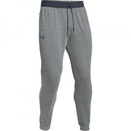Under Armour Triblend Fleece Jogger Pant - Men's Greyhound Heather / Stealth Gray / Stealth Gray XL ()