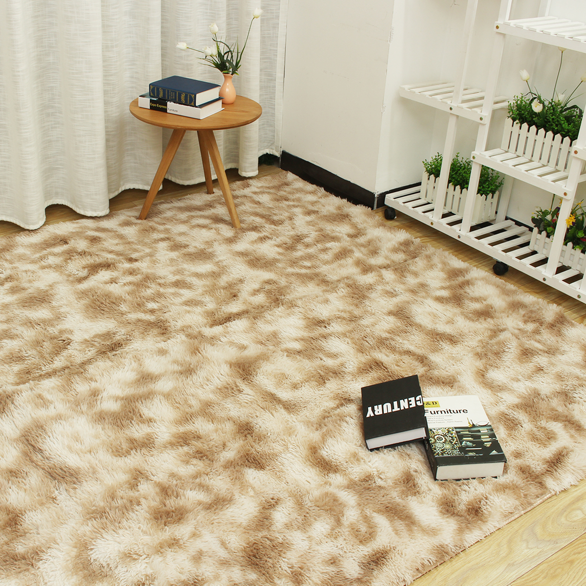 Upgraded Machine Washable Area Rugs For Living Room Ultra Luxurious Soft And Thick Faux Fur Shag Rug Non Slip Carpet For Bedroom Baby Room Nursery Decor Rug Available In Multi Size Color Walmart