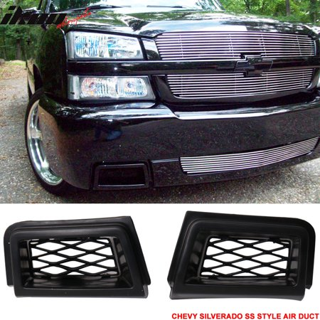 Gt2 Front Bumper - Fits 03-07 Chevy Silverado 1500 SS Style Brake Air Duct Front Bumper Caliper 2Pc