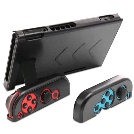 TSV Aluminum Anti-Scratch Dustproof Shockproof Hard Back Protective Case Cover Shells for Nintendo Switch NS Console and Joy-Con Controller (Controller Shell)