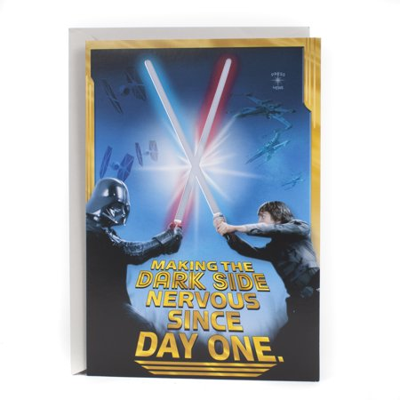 Hallmark Birthday Greeting Card (Star Wars, Happy Birthday Young Jedi) - Happy Halloween Greeting Card Sayings