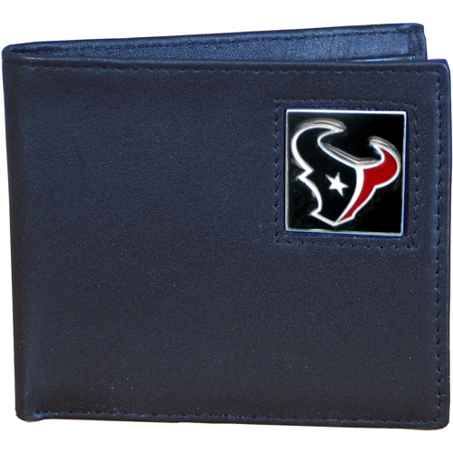 NFL - Siskiyou - Bi-fold Leather Wallet - Houston Texans