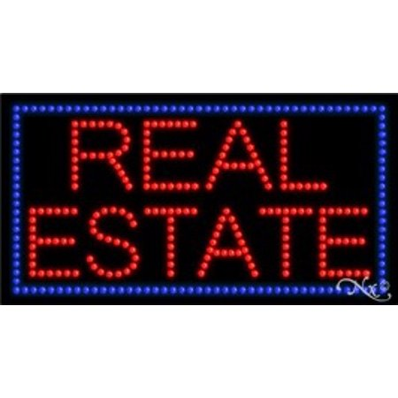 Real Estate Led - Real Estate LED Sign (High Impact, Energy Efficient)
