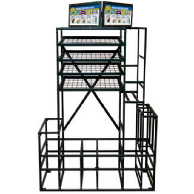 Midwest Air Tech 4' Free Standing Rack