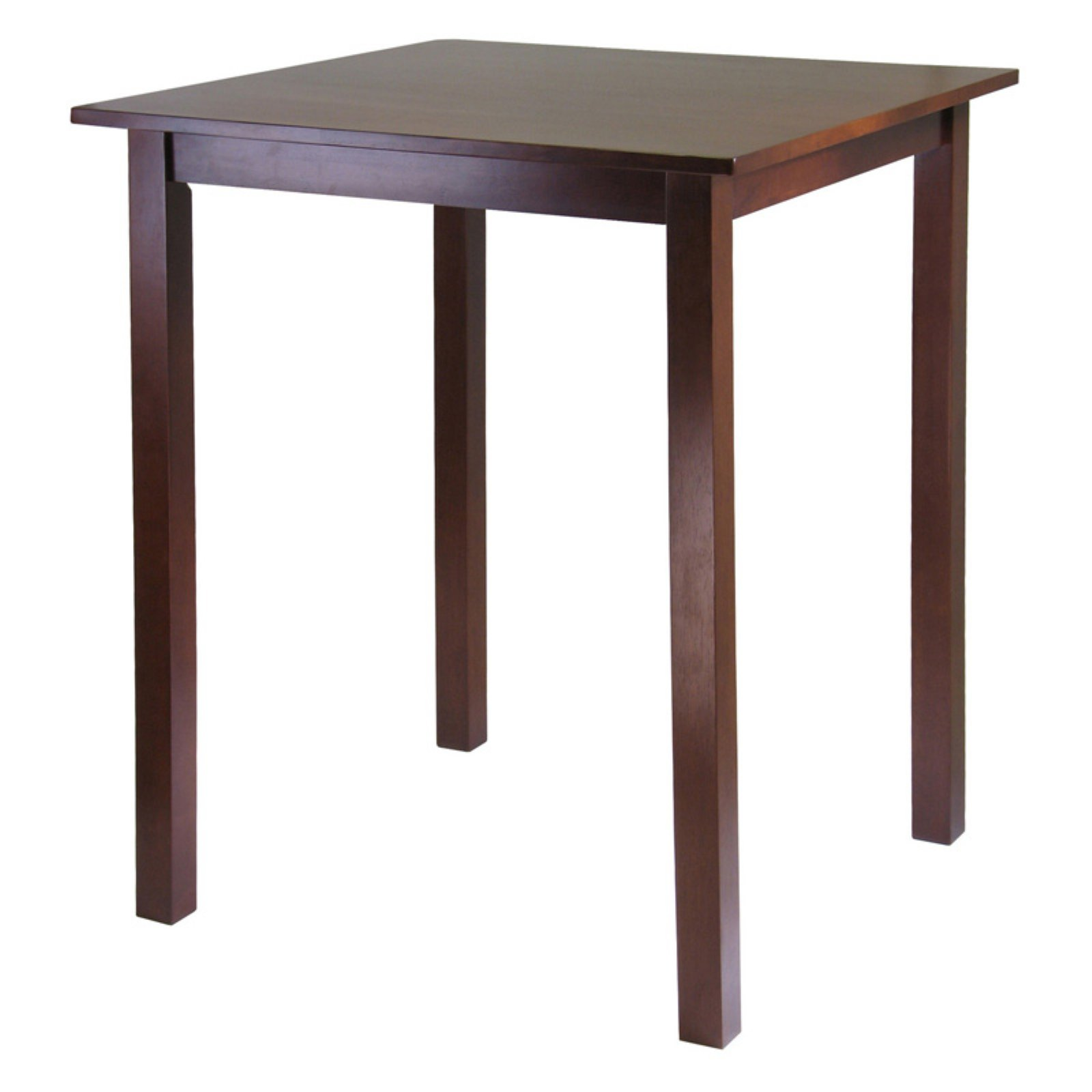 Parkland Square High Table, Antique Walnut