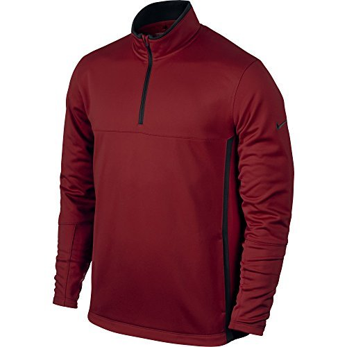 Nike 686085-613: Therma-Fit Cover Up MEN'S Golf Jacket TEAM CRIMSON by Nike
