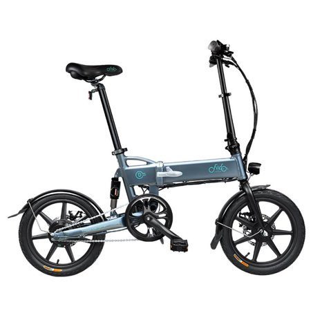 FIIDO 16 inch Folding Electric Mountain Bik, Light weight Aluminum Alloy Folding Ebike with 36V7.8A Lithium Battery,Charger