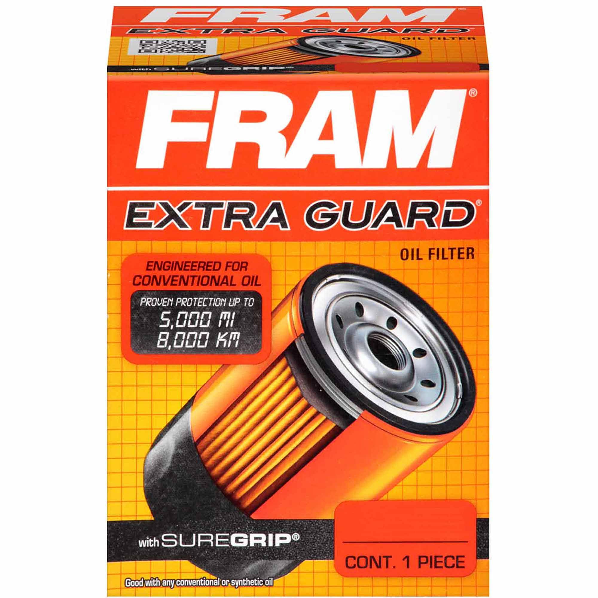 FRAM Extra Guard Oil Filter, PH3506