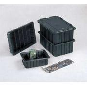 Lewisbins 40 lb Capacity, ESD Divider Box, Black DC2025-SXL BUY 12S