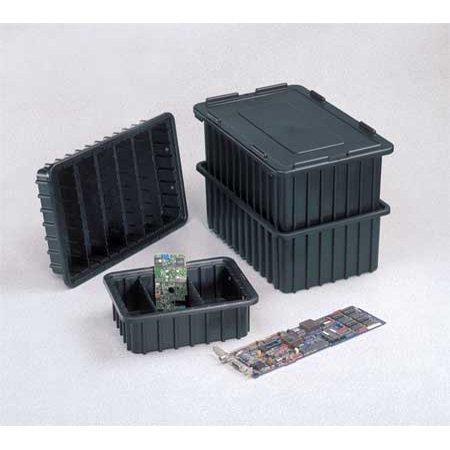Buy Boxes Cheap (Lewisbins ESD Box Divider, Black DV1060-NXL BUY)