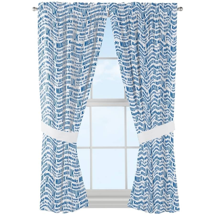 "NCAA Kentucky Wildcats ""Anthem"" Window Curtain Panels"