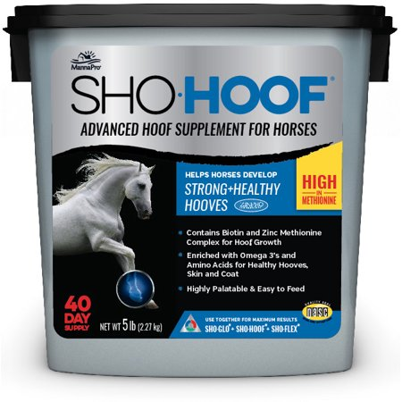 Manna Pro Sho Hoof Equine Hoof Supplement, 5 lbs.