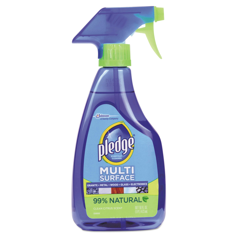 Pledge MultiSurface Clean & Dust Spray, 16 fl oz