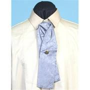 RW064-GRY-ONE Mens Rangewear Silk Puff Tie with Adjustable Neckband,Grey,One Size