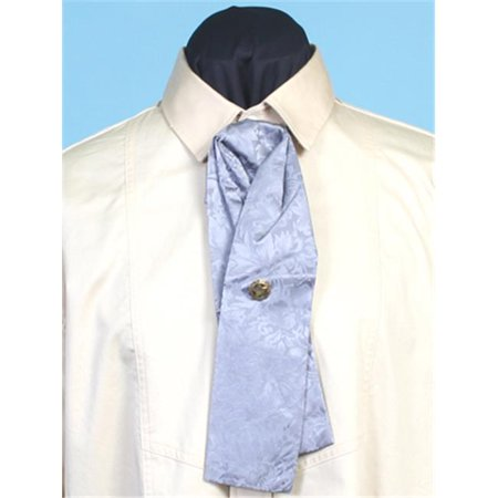 RW064-GRY-ONE Mens Rangewear Silk Puff Tie with Adjustable Neckband,Grey,One Size](Halloween Gry)