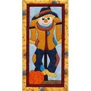 "Scarecrow Quilt Magic Kit, 9.5"" x 19"""