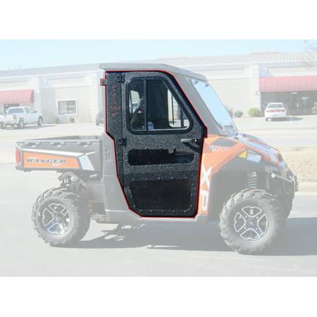 Polaris 15-18 Ranger 570 Midsize Steel Doors Only for Cab Enclosure ProFit Frame (Polaris Rzr Enclosure Cab)