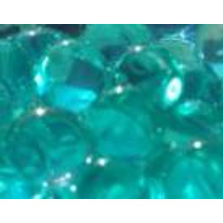 JellyBeadZ® TURQUOISE Crystal Water Gel Beads for Wedding Party Decor Crystal Soil Jelly Balls Water Pearls Vase Filler Centerpieces 20 Bags