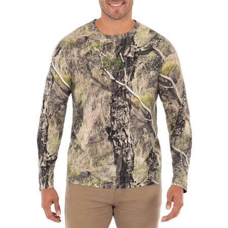 Men's OPP Scent Control Camo Long Sleeve Tee Shirt Scent Shield Clothes