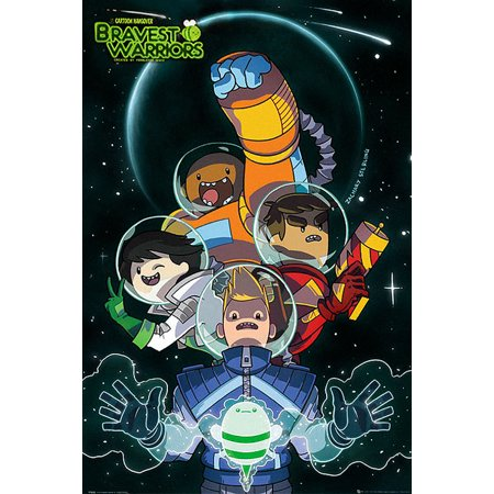 Bravest Warrirors - TV Show Poster / Print (Characters In Space) (Size: 24