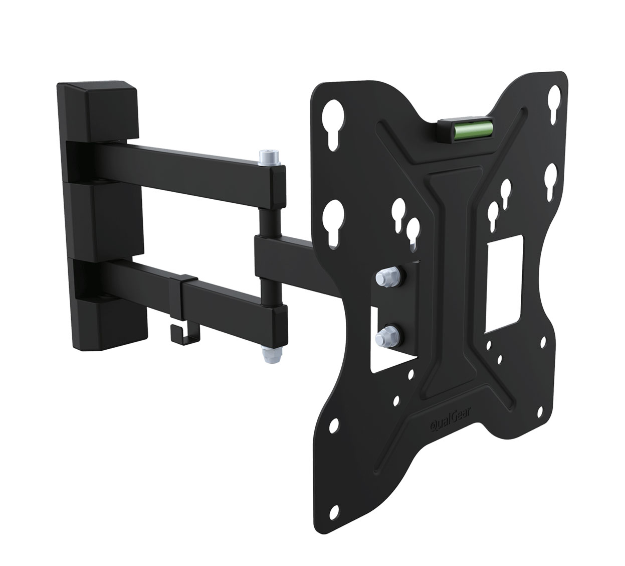 QualGear QG-TM-006-BLK 23-Inch to 42-Inch Universal Low Profile Tilting Wall Mount LED TVs, Black