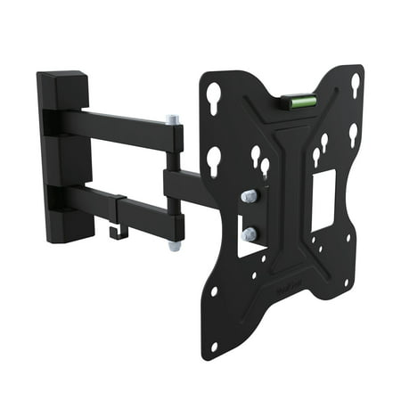 Low Profile Adjustable Wall Mount - QualGear QG-TM-006-BLK 23-Inch to 42-Inch Universal Low Profile Tilting Wall Mount LED TVs, Black