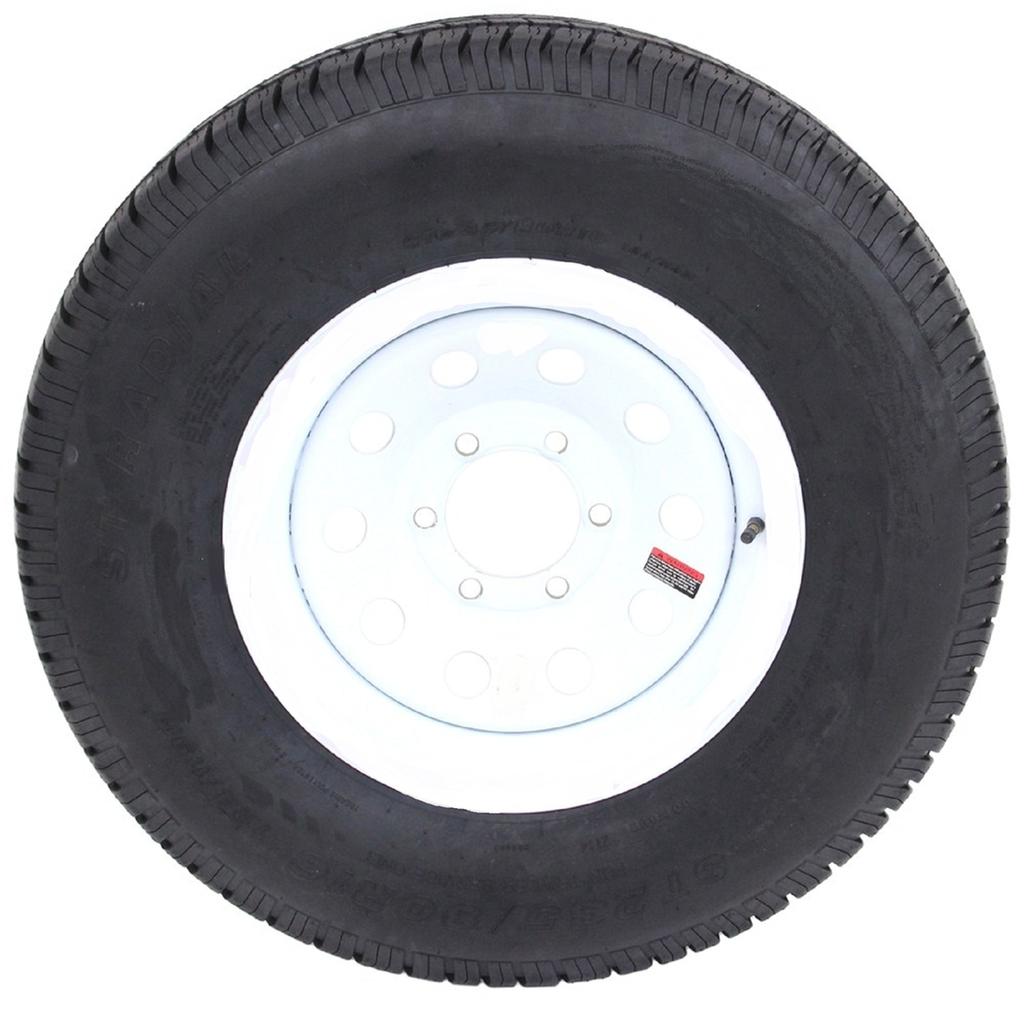 2-Pk eCustomrim Radial Trailer Tire Rim ST225/75R15 Load ...