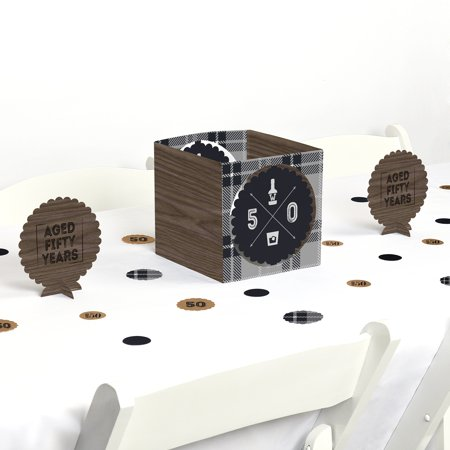 50th Milestone Birthday - Party Centerpiece & Table Decoration Kit for $<!---->