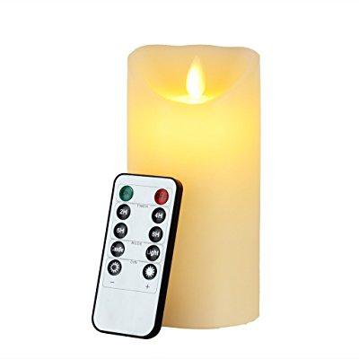 Flameless Candle Eyourlife Led Candles 6 Inch Ivory Christmas Electric Flickering Remote Control With Timer