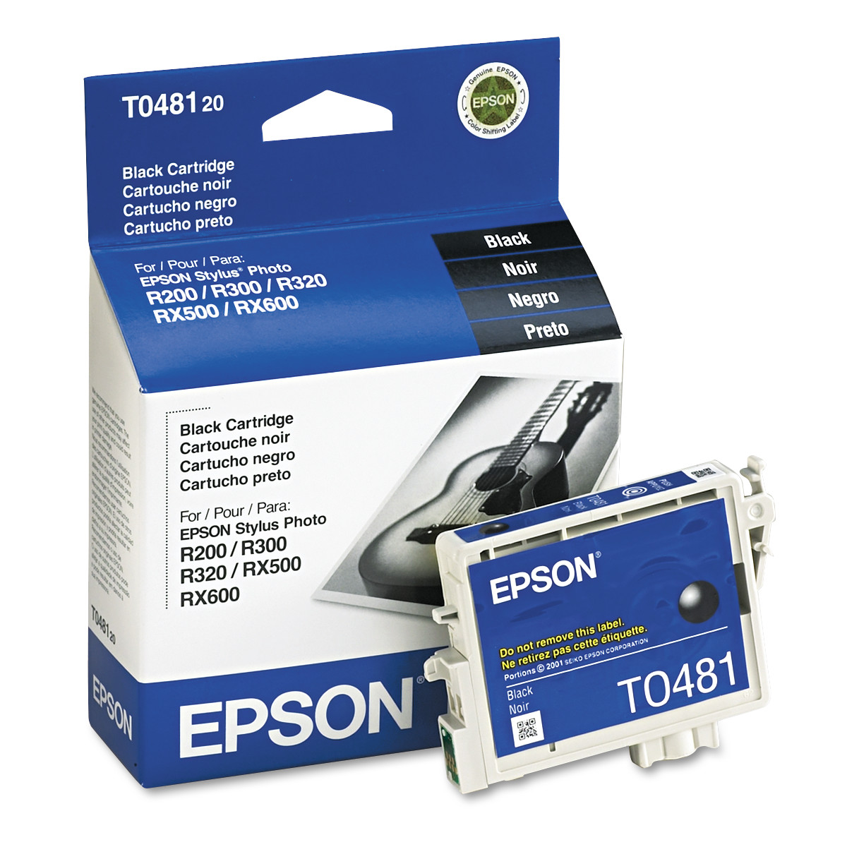 Epson T048120 (48) Quick-Dry Ink, Black by Epson