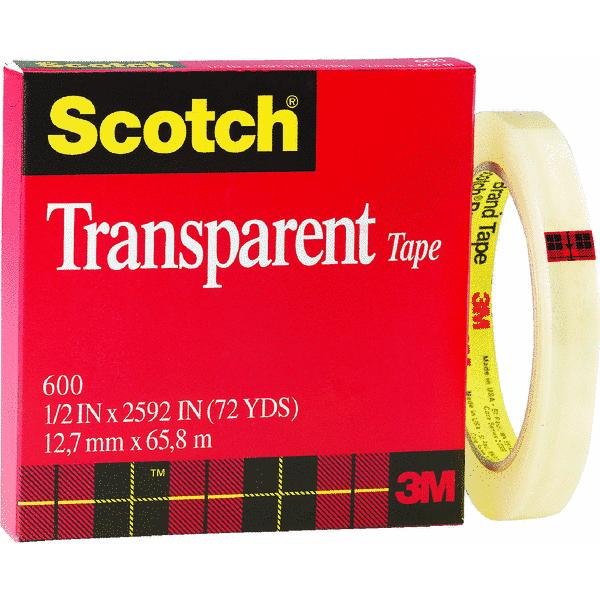 Scotch Transparent Tape Refill