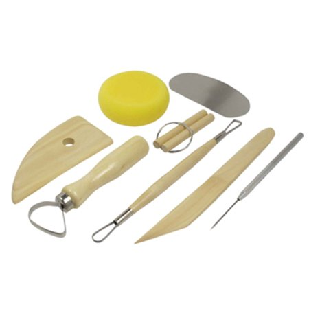 8Pc Ceramic Pottery Modeling Tool Set Clay Modelling Sculpting Tools