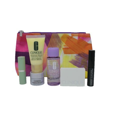 Clinique 6 Pieces Makeup Set Plus Cosmetics Bag 'Kapitza' New