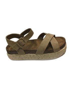 fcd54118d5 Product Image Pierre Dumas Mesa-7 Women's Taupe Sandal Size: 7