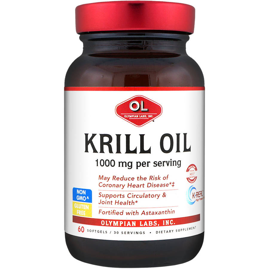 Olympian Labs Krill Oil Softgels, 60ct