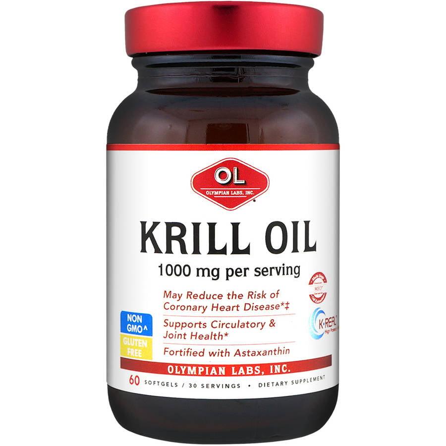 Olympian Labs Krill Oil Softgels, 60ct