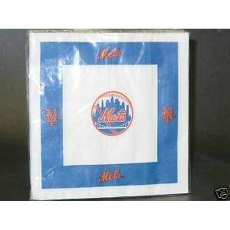 Duckhouse MLB New York Mets 24-Pack Paper Napkins