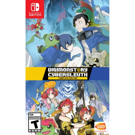 DIGIMON Story Cyber Sleuth: Complete Edition Nintendo Switch, Bandai NAMCO, 722674840323,