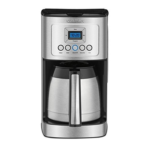 Cuisinart DCC-3400 PerfecTemp 12-Cup Thermal Coffeemaker with Stainless Carafe
