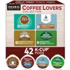 Keurig Coffee Lovers' Collection Variety Pack K-Cup Pods, 42 Count for Keurig Brewers