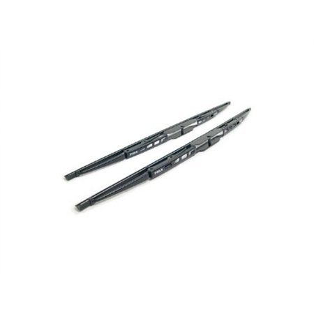 PIAA Windshield Wiper Blade; Super Silicone; 26 Inch; Single Blade; Without Spoiler; Black; All Season 95065