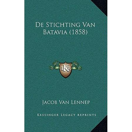 de Stichting Van Batavia (1858)